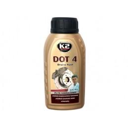 Płyn hamulcowy DOT 4 0,25 l K2